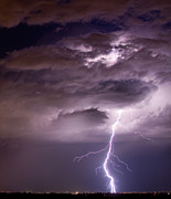 Lightning Bolt Pictures Metal Prints - Starting High Metal Print by James Bo Insogna
