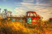 Old Trucks Photo Metal Prints - Starving Artist Metal Print by Robert Pearson