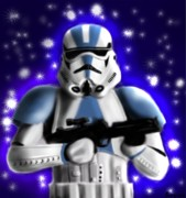 Star Digital Art Posters - Starwars. Stormtrooper Poster by Sandra Geis