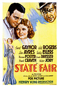 Gaynor Framed Prints - State Fair, Lew Ayres, Janet Gaynor Framed Print by Everett