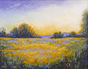Fields Of Flowers Paintings - State of Grace by Katherine Tucker