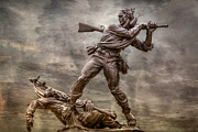 Regiment Digital Art - State of Mississippi Monument at Gettysburg  by Randy Steele
