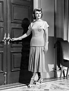 Long Skirt Framed Prints - State Of The Union, Angela Lansbury Framed Print by Everett
