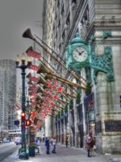 Chicago Illinois Photo Posters - State Street that great street Poster by David Bearden