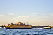 Staten Island Photos - Staten Island Ferry by David Bearden