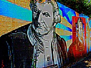 Founding Fathers Digital Art - Statesmen by Randall Weidner