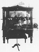 Radiogram Prints - Static Electric Machine With X-ray Print by Science Source