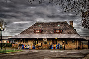 Train Station Photos - Station - Westfield NJ - The Train Station by Mike Savad