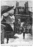 Liberated Photos - Statue Of Liberty, 1881 by Granger
