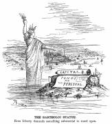 Liberated Photos - Statue Of Liberty Cartoon by Granger