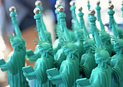 Painted Image Posters - Statue Of Liberty Doll Poster by Datacraft Co Ltd