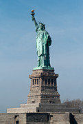 Liberty Island Prints - Statue of Liberty I Print by Clarence Holmes