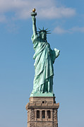 United States National Register Of Historic Places Photos - Statue of Liberty IV by Clarence Holmes
