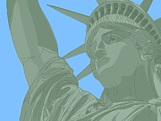 Art And Craft Digital Art - Statue Of Liberty by Lana Sundman