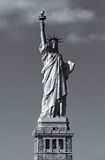 United States National Register Of Historic Places Photos - Statue of Liberty V by Clarence Holmes