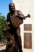 Country Music Photos - Statue Of Willie Nelson by Mark Weaver
