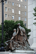 Nashville Architecture Prints - Statues in Nashville Print by Susanne Van Hulst