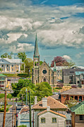 St. Francis Of Assisi Prints - Staunton Cityscape Print by Jim Moore