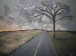 Gloomy Painting Prints - Stay Strong Print by Jeanette Jenkins