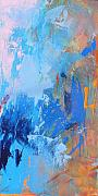 Jazz  Abstract Paintings - Stay the Night by Jacquie Gouveia