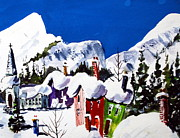 Image Painting Originals - Ste.Adele Quebec by Wilfred McOstrich