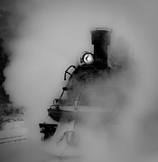 Durango Prints - Steam Blanket Print by Patrick  Flynn