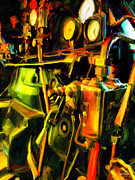 Johnny Trippick Posters - Steam Driven Thing Poster by Johnny Trippick