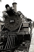 Huckleberry Railroad Prints - Steam Engine 464 Print by Scott Hovind