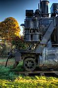 R J Ruppenthal Metal Prints - Steam Locomotive 1044 Metal Print by R J Ruppenthal