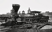 Boiler Photos - Steam Locomotive Edward M. Stanton  1864 by Daniel Hagerman