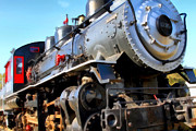 Old Locomotives Acrylic Prints - Steam Locomotive Engine 1215 . 7D12980 Acrylic Print by Wingsdomain Art and Photography