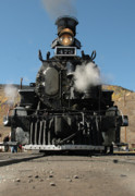 Narrow Gauge Photos - Steam Power by Jerry McElroy