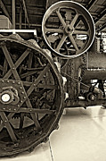 Grey Roots Museum  Photos - Steam Power monochrome by Steve Harrington