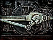 Gear Metal Prints - Steam Power Metal Print by Olivier Le Queinec