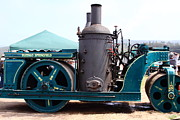 Motors Framed Prints - Steam Powered Roller 7d15116 Framed Print by Wingsdomain Art and Photography