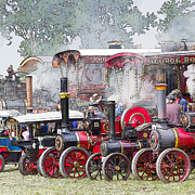 Rally Prints - Steam Rally Heaven Print by John Potter