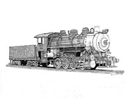 Shipping Drawings - Steam Switcher number 1894 by Calvert Koerber
