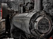 Hovind Posters - Steam Tractor Poster by Scott Hovind
