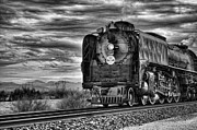 Donna Van Vlack Photos - Steam Train No 844 - IV by Donna Van Vlack