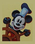 Disney World Digital Art Originals - Steamboat Willy by Rob Hans
