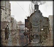 Leopold Brix - Steamlocomotive 93.1446...