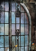 Hoist Photo Framed Prints - Steampunk - Gear - Importance of Industry  Framed Print by Mike Savad