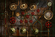 Steampunk - Plumbing - Job Jitters Print by Mike Savad