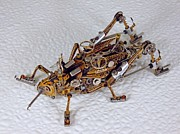Mechanical Sculptures - Steampunk Clockpunk Mechanical Bugs by Dmitriy Khristenko