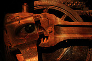 Robots Art - Steampunk Part Number 93063 Ghost In The Machine by Wingsdomain Art and Photography