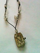 Wrap Jewelry - Steampunk Pendant  by Laura Staudacher