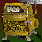 Casino Artist - Steampunk Slot Machine...