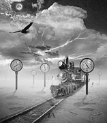 Laps Prints - Steampunk Traveler Print by Keith Kapple