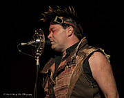 Abney Park Prints - Steampunks Finest Robert Brown Print by Sandra Lane