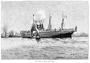 American City Prints - Steamship, 1891 Print by Granger